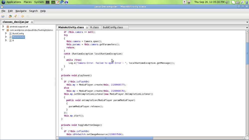 How to decode Source code from .apk of Android (2/2)